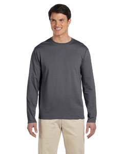 Charcoal Softstyle® 4.5 oz. Long-Sleeve T-Shirt