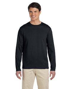 Black Softstyle® 4.5 oz. Long-Sleeve T-Shirt