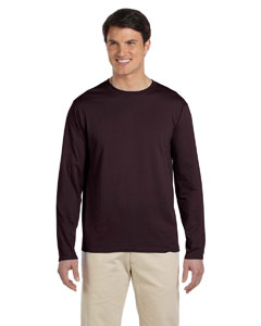 Dark Chocolate Softstyle® 4.5 oz. Long-Sleeve T-Shirt