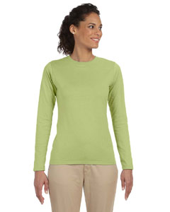 Kiwi Women's 4.5 oz. SoftStyle Junior Fit Long-Sleeve T-Shirt