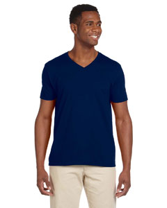 Navy Softstyle® 4.5 oz. V-Neck T-Shirt