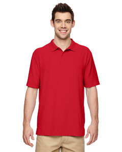 Red DryBlend® 6.3 oz. Double Piqué Sport Shirt