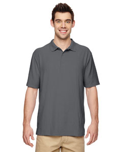 Charcoal DryBlend® 6.3 oz. Double Piqué Sport Shirt