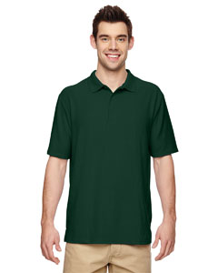 Forest Green DryBlend® 6.3 oz. Double Piqué Sport Shirt
