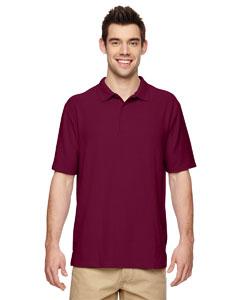 Maroon DryBlend® 6.3 oz. Double Piqué Sport Shirt