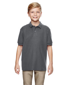 Charcoal DryBlend® Youth 6.3 oz. Double Piqué Sport Shirt