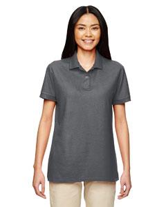 Charcoal DryBlend® Ladies' 6.3 oz. Double Piqué Sport Shirt