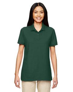 Forest Green DryBlend® Ladies' 6.3 oz. Double Piqué Sport Shirt