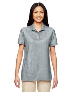 Sport Grey DryBlend® Ladies' 6.3 oz. Double Piqué Sport Shirt