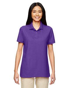 Purple DryBlend® Ladies' 6.3 oz. Double Piqué Sport Shirt