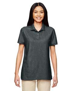 Dark Heather DryBlend® Ladies' 6.3 oz. Double Piqué Sport Shirt