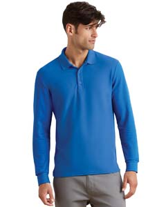 Royal Dryblend Double Pique Long-Sleeve Polo