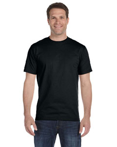 Black DryBlend™ 5.6 oz., 50/50 T-Shirt