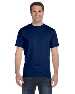 Navy DryBlend™ 5.6 oz., 50/50 T-Shirt