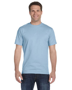 Light Blue DryBlend™ 5.6 oz., 50/50 T-Shirt