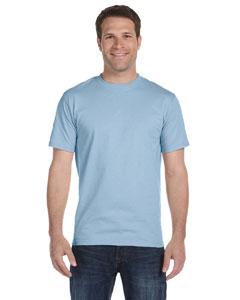 Light Blue DryBlend® 5.6 oz., 50/50 T-Shirt