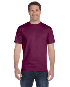 Maroon DryBlend® 5.6 oz., 50/50 T-Shirt