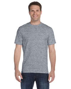 Dark Heather DryBlend™ 5.6 oz., 50/50 T-Shirt