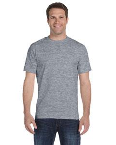 Dark Heather DryBlend® 5.6 oz., 50/50 T-Shirt