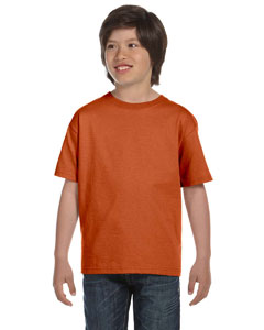 Texas Orange DryBlend™ Youth 5.6 oz., 50/50 T-Shirt