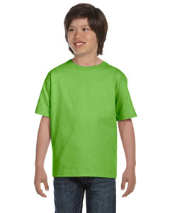 Lime DryBlend™ Youth 5.6 oz., 50/50 T-Shirt