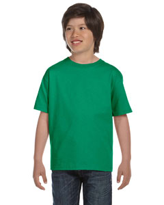 Kelly Green DryBlend™ Youth 5.6 oz., 50/50 T-Shirt