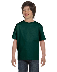 Forest Green DryBlend™ Youth 5.6 oz., 50/50 T-Shirt