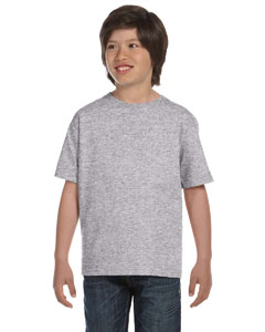 Sport Grey DryBlend™ Youth 5.6 oz., 50/50 T-Shirt