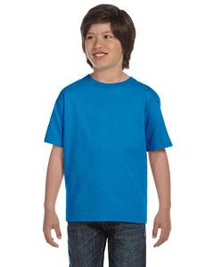 Sapphire DryBlend®  Youth 5.6 oz., 50/50 T-Shirt