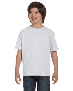 Ash Grey DryBlend™ Youth 5.6 oz., 50/50 T-Shirt
