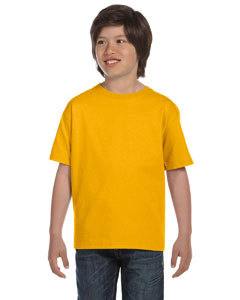 Gold DryBlend™ Youth 5.6 oz., 50/50 T-Shirt