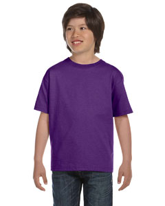 Purple DryBlend™ Youth 5.6 oz., 50/50 T-Shirt