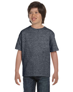 Dark Heather DryBlend™ Youth 5.6 oz., 50/50 T-Shirt