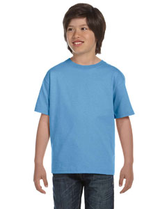 Carolina Blue DryBlend™ Youth 5.6 oz., 50/50 T-Shirt
