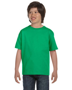 Irish Green DryBlend™ Youth 5.6 oz., 50/50 T-Shirt