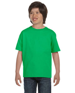 Electric Green DryBlend™ Youth 5.6 oz., 50/50 T-Shirt