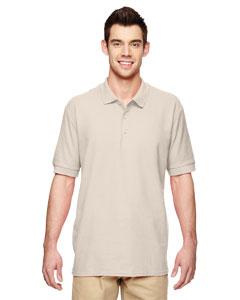 Sand Premium Cotton™ 6.5 oz. Double Piqué Sport Shirt