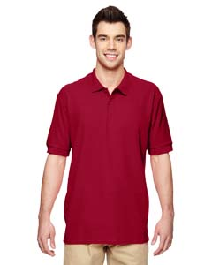 Cardinal Red Premium Cotton™ 6.5 oz. Double Piqué Sport Shirt