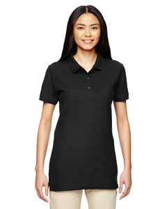 Black Premium Cotton™ Ladies' 6.5 oz. Double Piqué Sport Shirt