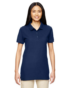 Navy Premium Cotton™ Ladies' 6.5 oz. Double Piqué Sport Shirt