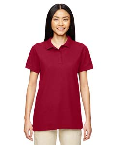 Cardinal Red Premium Cotton™ Ladies' 6.5 oz. Double Piqué Sport Shirt