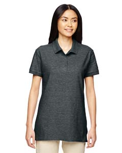 Dark Heather Premium Cotton™ Ladies' 6.5 oz. Double Piqué Sport Shirt