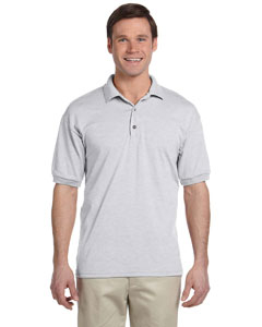 Ash Grey DryBlend® 6 oz., 50/50 Jersey Polo