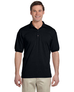 Black DryBlend® 6 oz., 50/50 Jersey Polo