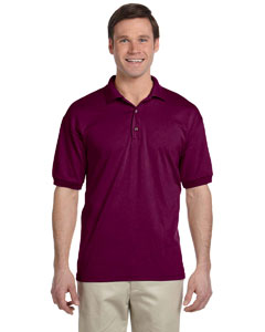Maroon DryBlend® 6 oz., 50/50 Jersey Polo