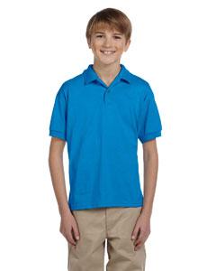 Sapphire DryBlend® Youth 5.6 oz., 50/50 Jersey Polo