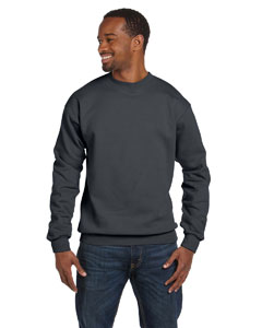 Charcoal Premium Cotton™ 9 oz. Ringspun Crew