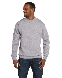 Sport Grey Premium Cotton™ 9 oz. Ringspun Crew