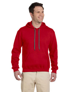 Red Premium Cotton™ 9 oz. Ringspun Hooded Sweatshirt
