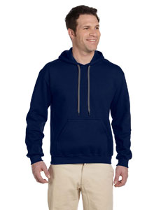 Navy Premium Cotton™ 9 oz. Ringspun Hooded Sweatshirt